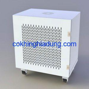 c rack 10u d400 tower white