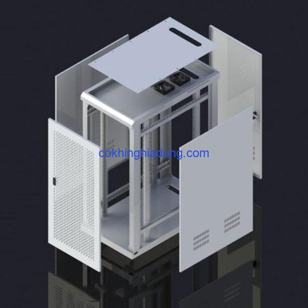 c rack 27u d1000 mesh white 2 1