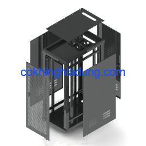 c rack 36u d1000 mesh black 2