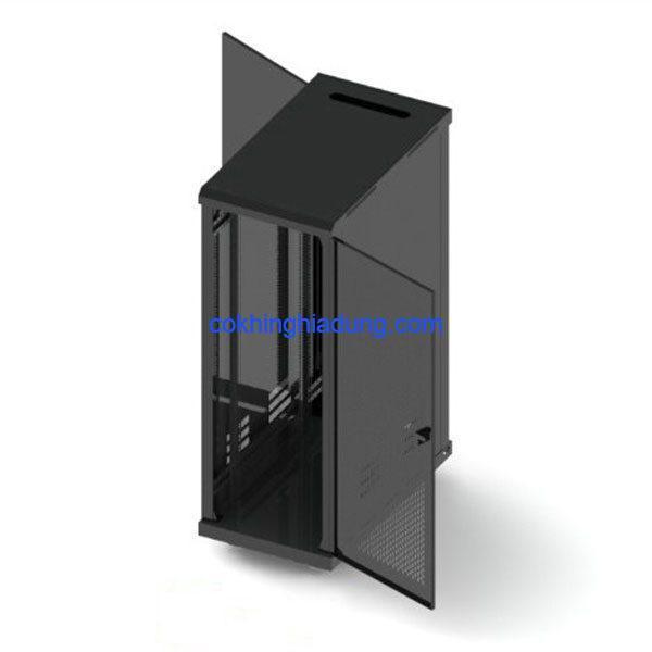 c rack 36u d1000 mesh black 4